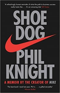 7 Business Books all European Entrepreneurs and Startups Should Read - the shoe dog