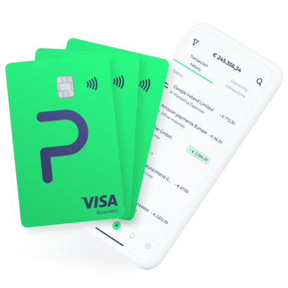 business cards smartphone banking